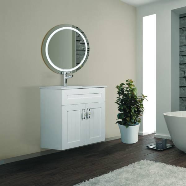 ארון אמבטיה מרחף, צבע אפוקסי דגם גלעד