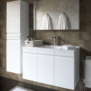 ארון אמבטיה אפוקסי דלתות דגם גונן