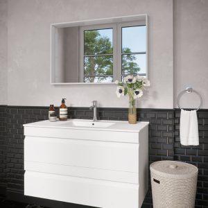 ארון אמבטיה מגירות אפוקסי דגם גזית