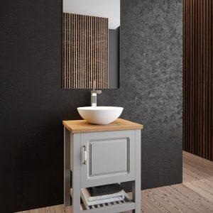 ארון אמבטיה אפוקסי דגם מיני אלונים