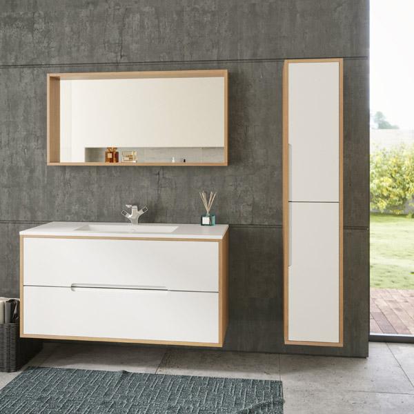ארון אמבטיה תלוי / מרחף צבע אפוקסי דגם נגבה