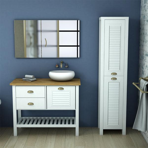 ארון אמבטיה עומד, צבע אפוקסי דגם אורטל