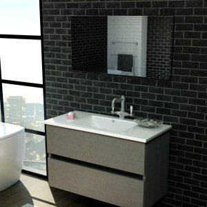 ארון אמבטיה פורמייקה דגם נגבה