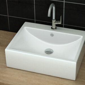 כיור מונח מבריק לארון אמבטיה דגם יגור