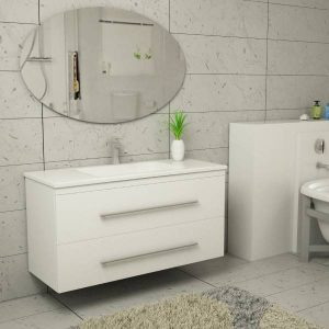 ארון אמבטיה פורמייקה דגם מחניים