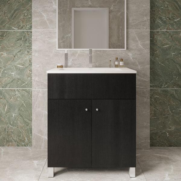 ארון אמבטיה עומד פורמייקה דגם סער