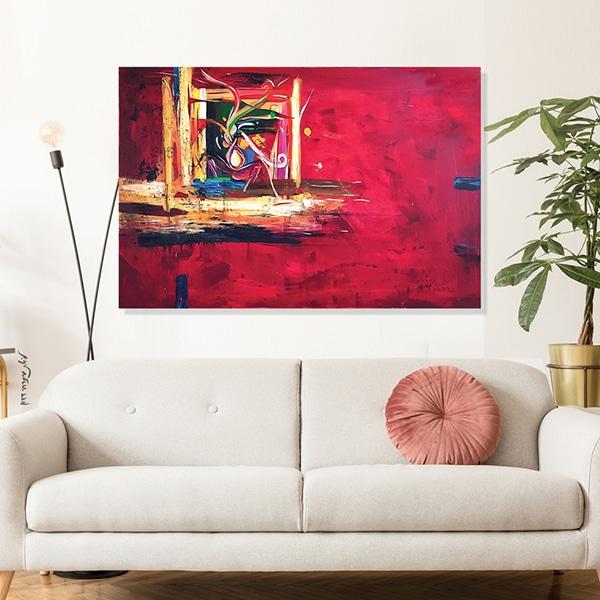 """""""יצרים"""" הדפס הציור המקורי של הציירת והאמנית ליאת מזרחי דדון"""