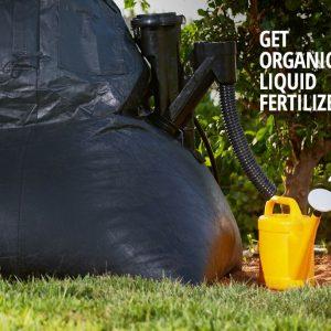מערכת ביוגז המתקדמת בעולם לחצר / גינה שלכם מבית הומביוגז