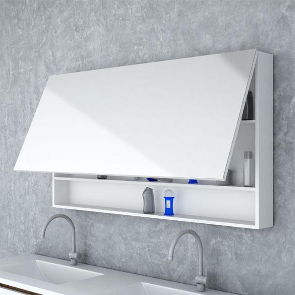 קלפה צביעת אפוקסי + מדף אינטגרלי לחדר אמבטיה