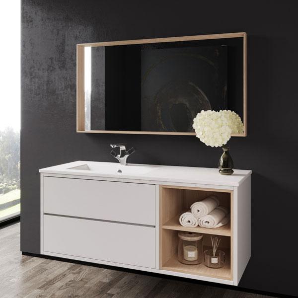 ארון אמבטיה תלוי, צבע אפוקסי דגם אליפז