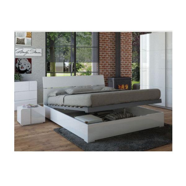 """מיטה יוקרתית עם ארגז נסתר 160 ס""""מ דגם דליה"""