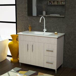 ארון אמבטיה עומד פורמייקה דגם סופה קלאסי
