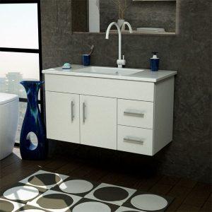 ארון אמבטיה תלוי / מרחף פורמייקה דגם סופה אלגנט