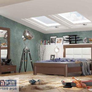 חדר שינה זוגי קומפלט ומעוצב דגם עדן