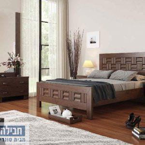 חדר שינה זוגי קומפלט ומעוצב דגם מיכל