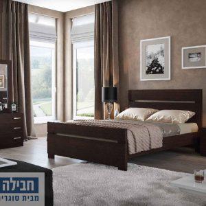חדר שינה זוגי קומפלט ומעוצב דגם מאיה