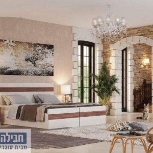 חדר שינה זוגי קומפלט ומעוצב דגם גילי