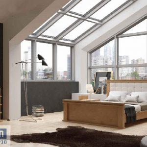 חדר שינה זוגי קומפלט ומעוצב דגם רודי