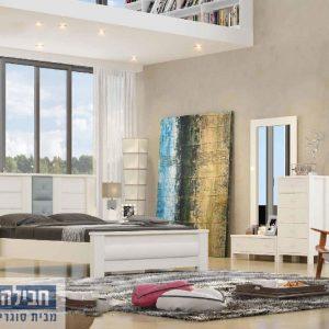 חדר שינה זוגי קומפלט ומעוצב דגם רותם