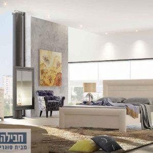 חדר שינה זוגי קומפלט ומעוצב דגם אמיר