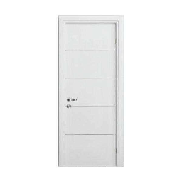 דלתות פולימר אקוסטיות מעוצבות צבע לבן/שמנת