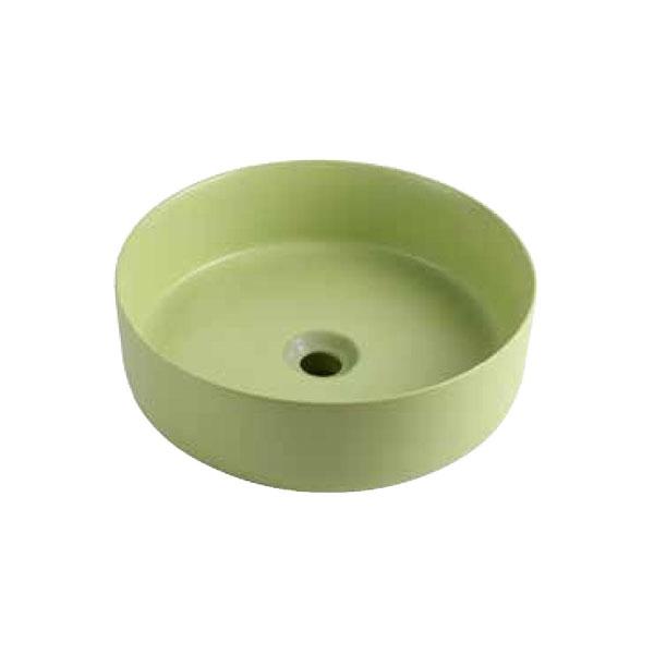 כיור אמבטיה ירוק מט דגם ריחן