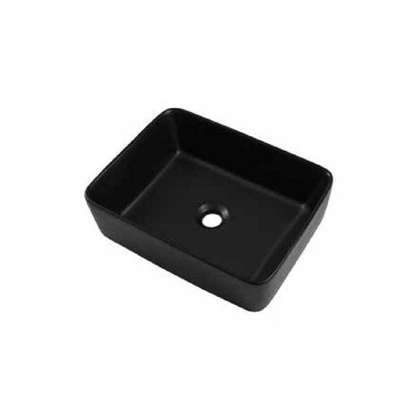 כיור אמבטיה שחור מט דגם ריחן