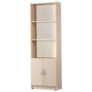 ספריה 5 מדפים ו2 דלתות