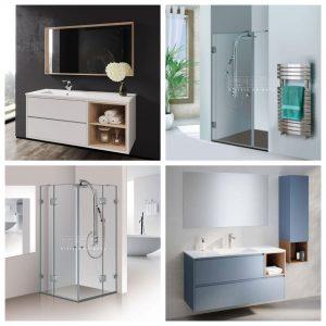 מחיר מיוחד לחבילה לחדר האמבטיה הכוללת מקלחון בהתאמה אישית וארון אמבטיה יוקרתיים