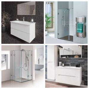 מחיר מיוחד לחבילה לחדר האמבטיה הכוללת מקלחון בהתאמה אישית וארון אמבטיה