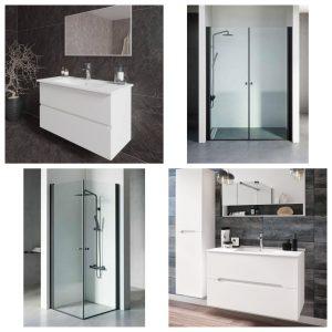 מחיר מיוחד לחבילה לחדר האמבטיה הכוללת מקלחון סטנדרטי וארון אמבטיה אפוקסי