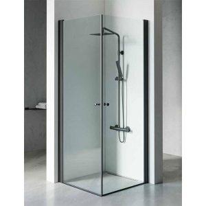 מקלחון יוקרתי בגודל סטנדרטי, פרזול שחור דגם מורן