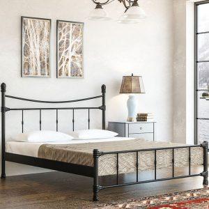 מיטת מתכת מדגם אורנוס 160