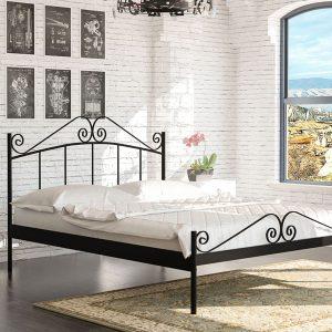 מיטת מתכת דגם נפטון