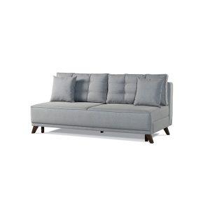 """ספה תלת מושבית רוחב 145 ס""""מ נפתחת למיטה זוגית אורך 190 ס""""מ דגם שטלנד"""
