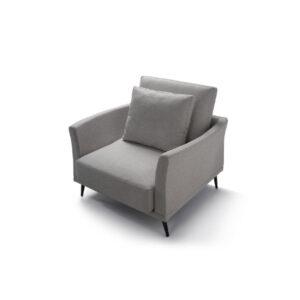 מערכת ישיבה איכותית לסלון תוצרת איטליה דגם BARTH כורסאת יחיד