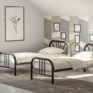 מיטת יחיד ברזל דגם רוני
