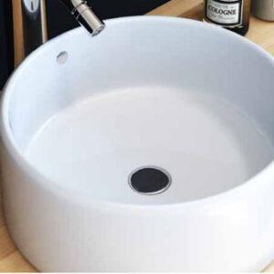 כיור מונח מבריק לארון אמבטיה דגם לוז
